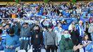 Cientos de deportivistas se dieron cita en El Sardinero