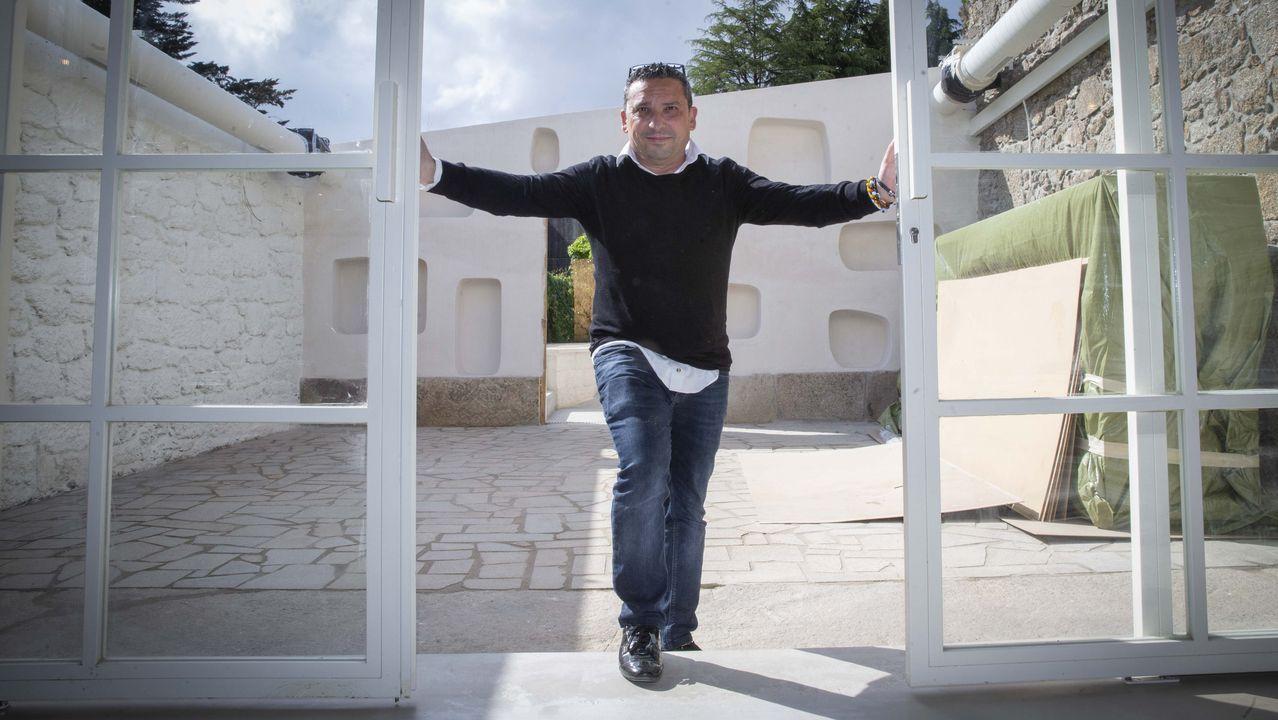 Axel Torres, en la Nova Creu Alta