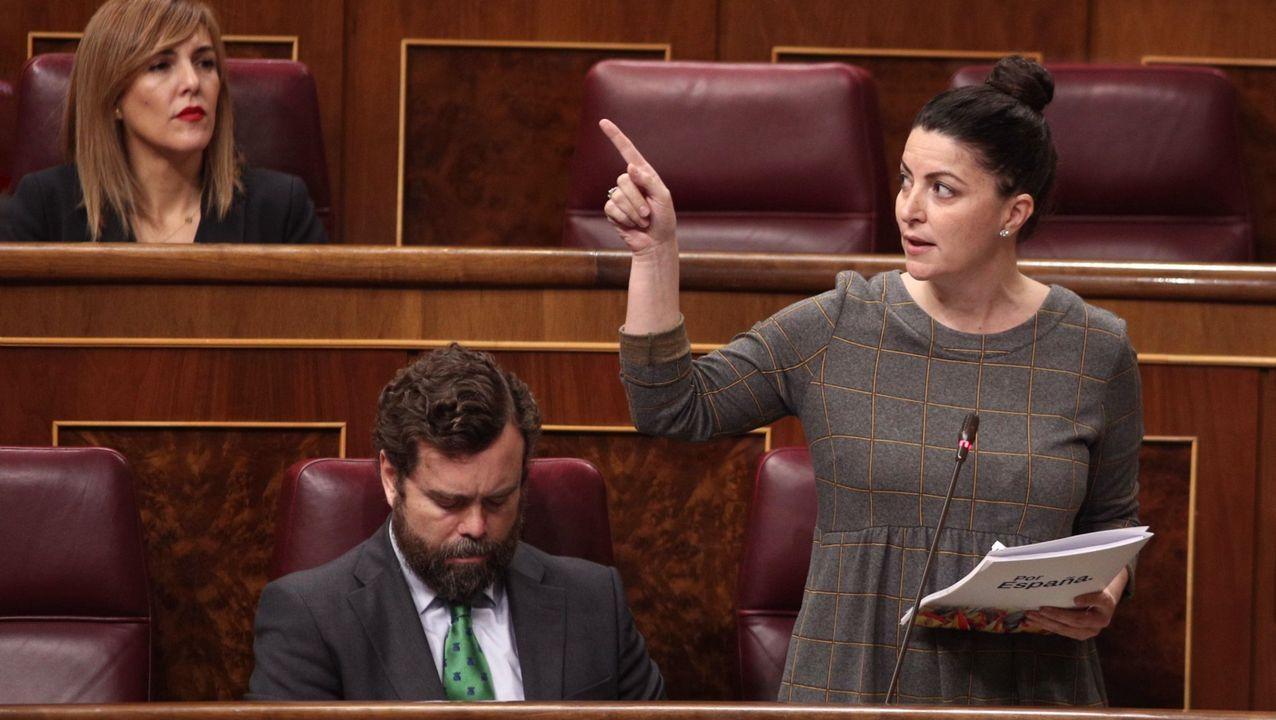 Macarena Olona, diputada de Vox
