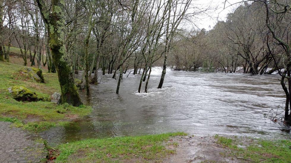 Inundaciones en el río Ulla