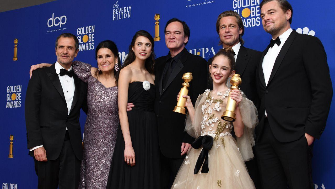 «Érase una vez en...Hollywood», una de las grandes triunfadoras de la noche