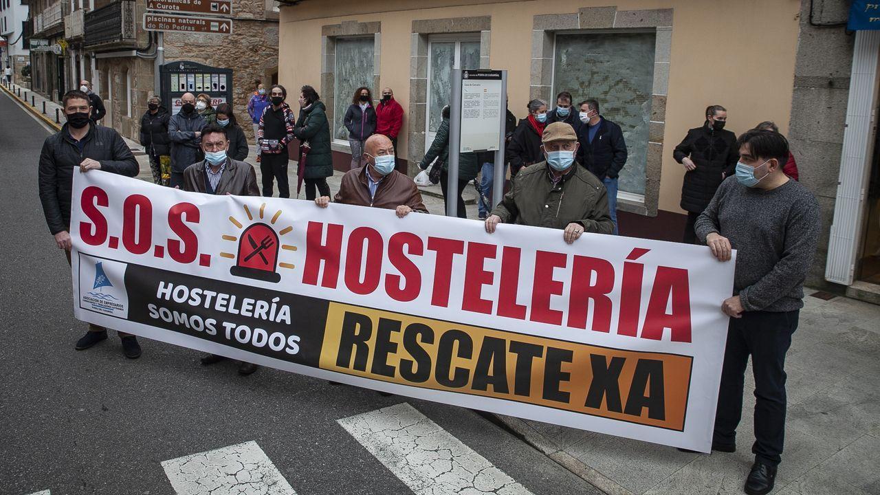 Concentración de hosteleros en A Pobra