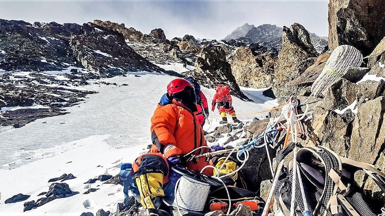 Rescate en el Nanga Parbat tomadas por el equipo de Txikon