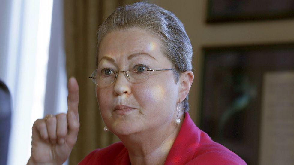 Adiós al autor del «El tambor de hojalata».La nueva presidenta del Comité Nobel noruego, Kaci Kullmann Five.