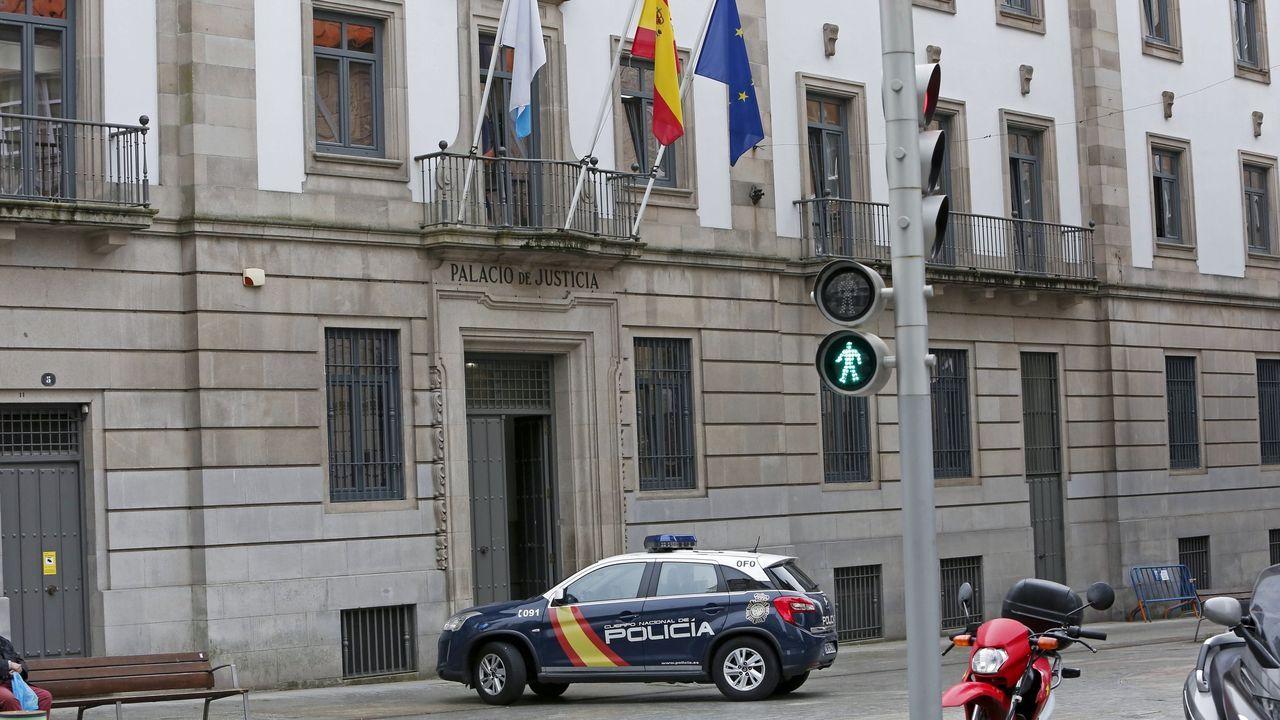 Celebración do 1º de Maio en Arousa.El agresor va a ser juzgado en la Audiencia Provincial de Pontevedra