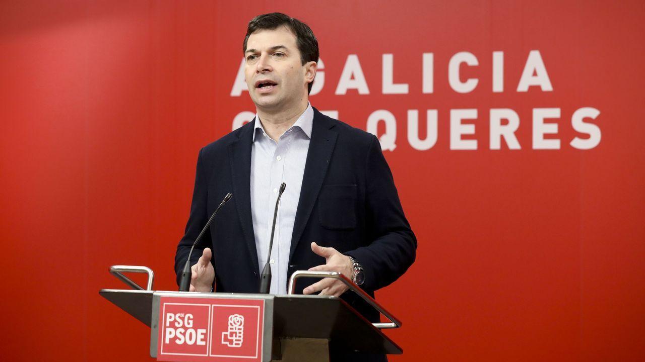 Gonzalo Caballero, secretario xeral del PSdeG-PSOE