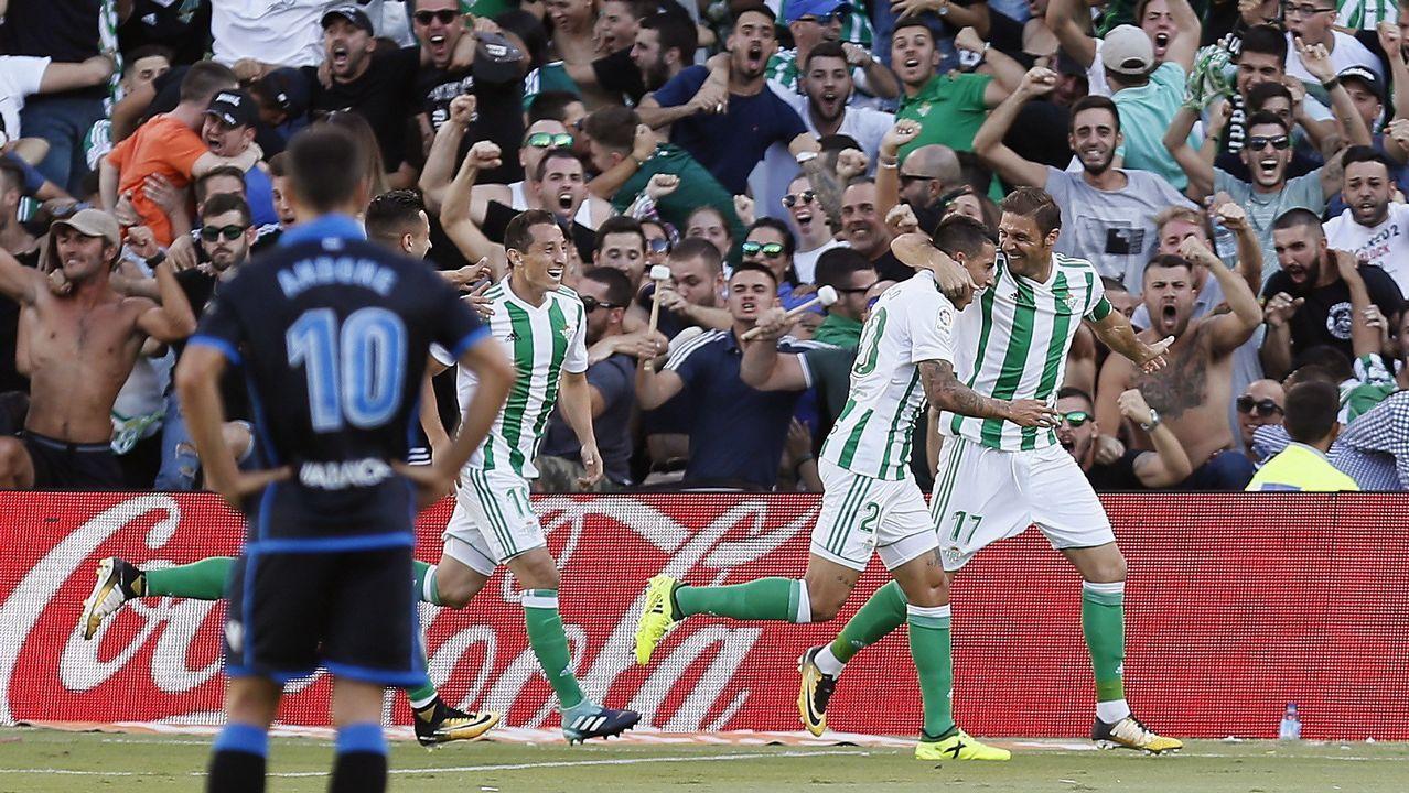 Las mejores imágenes del Betis - Deportivo.Estrela dos Castros se inaugura este jueves