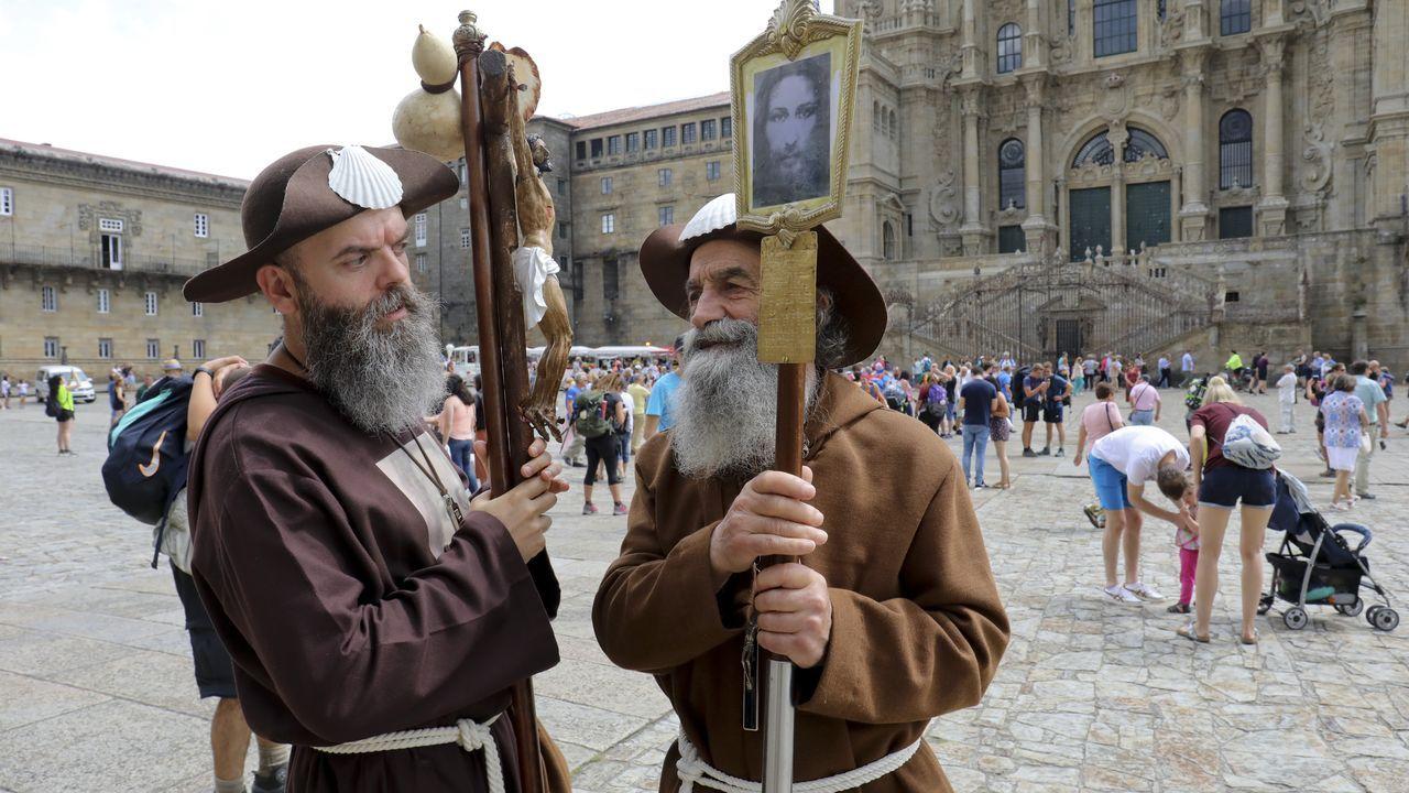 El Descenso urbano de Sarria, espectaculo en estado puro