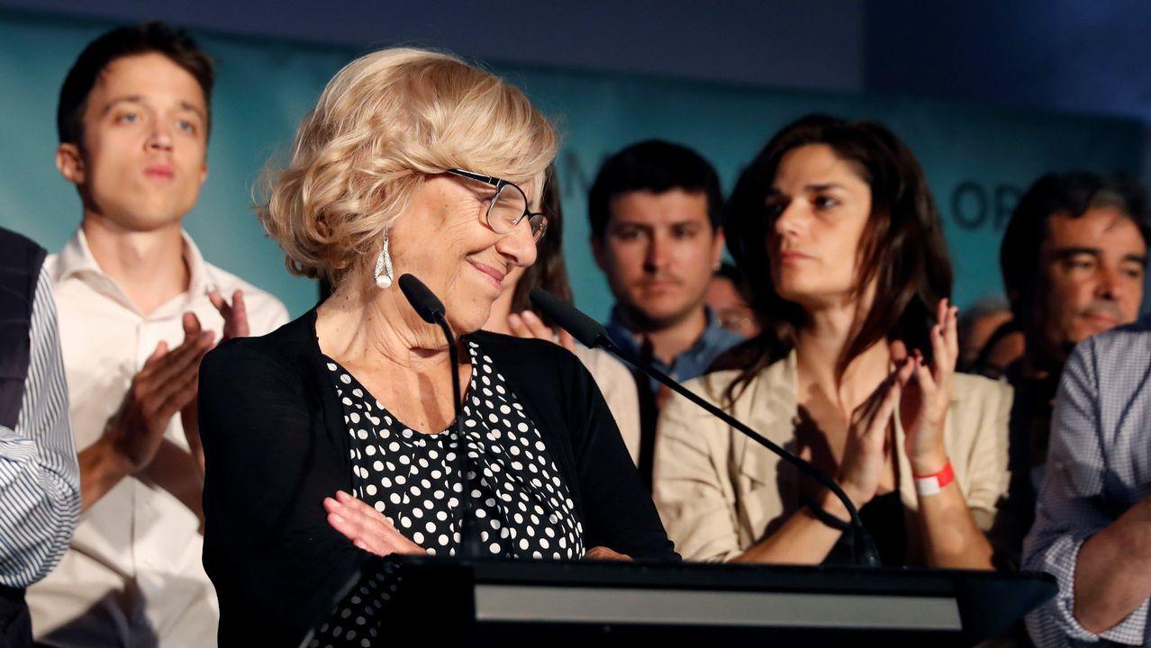 Carmena ya anunció que no estará en la oposición y que deja la política tras lo lograr los apoyos suficientes en Madrid