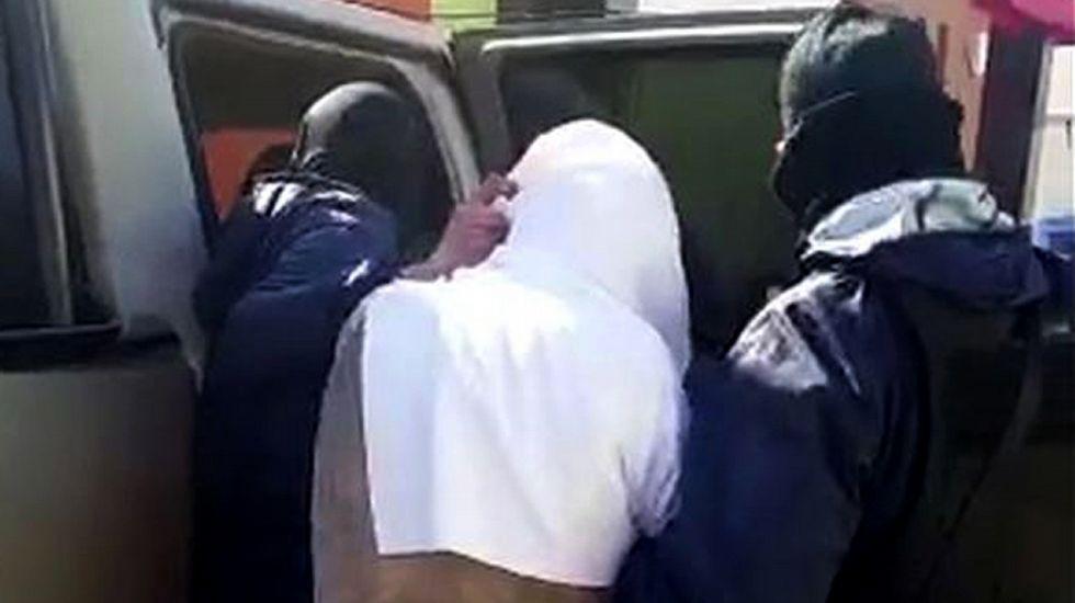 Las autoridades exhiben al Chapo Guzmán.La actriz mexicana Kate del Castillo (derecha), junto a Juliette Binoche y Antonio Banderas en una imagen de archivo