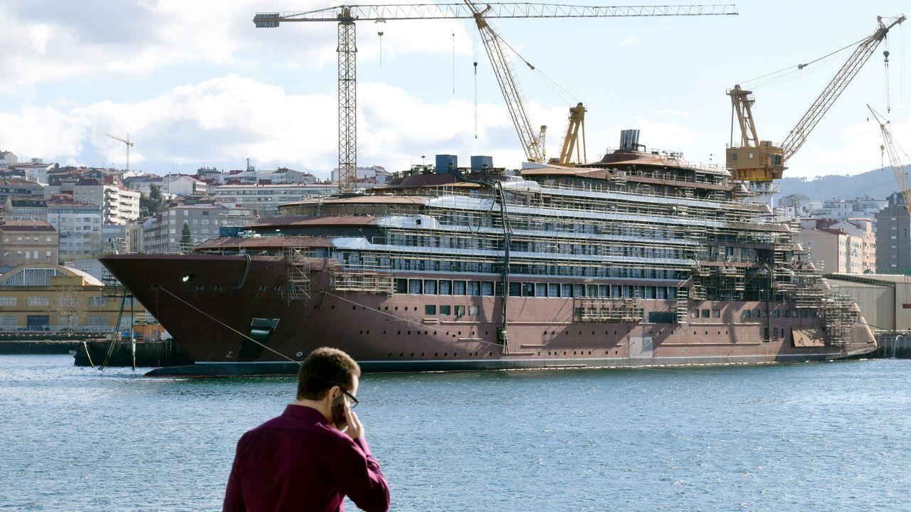 7 /10/2019: El mayor astillero privado de España, y símbolo de la Galicia naval solicita el preconcurso de acreedores, ahogado por un pedido que había de ser la panacea y acabó en pesadilla: el crucero de lujo que le encargó Ritz Carlton. El tiempo se acaba y todavía no ha llegado la solución definitiva