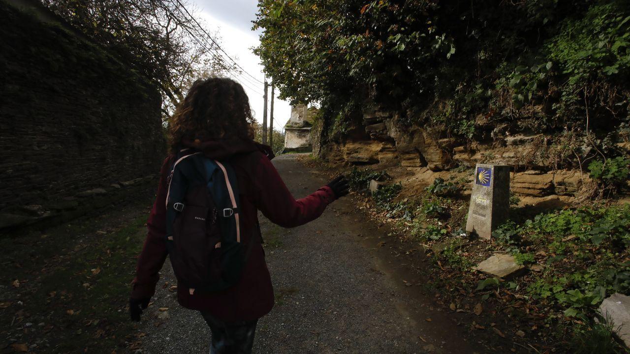 Así es el Camiño Primitivo a su paso por el municipio de Lugo