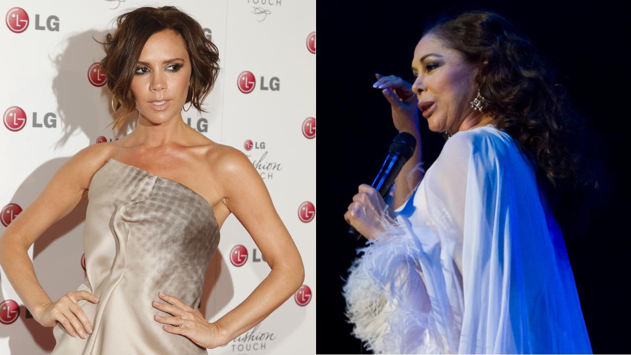 Pilar Rubio y Sergio Ramos protagonizan un romántico beso tras darse el «sí quiero».Las cuatro componentes de las Spice Girls, sin Victoria Beckham