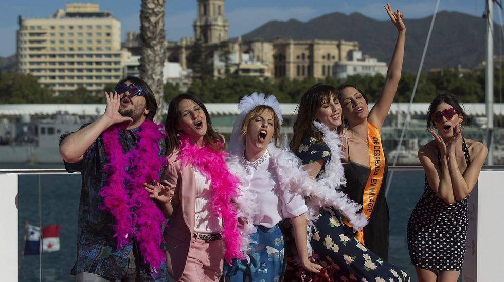 La tercera jornada del Festival de Cine de Málaga, en imágenes.La actriz Ana Fernández, en el Festival de Málaga