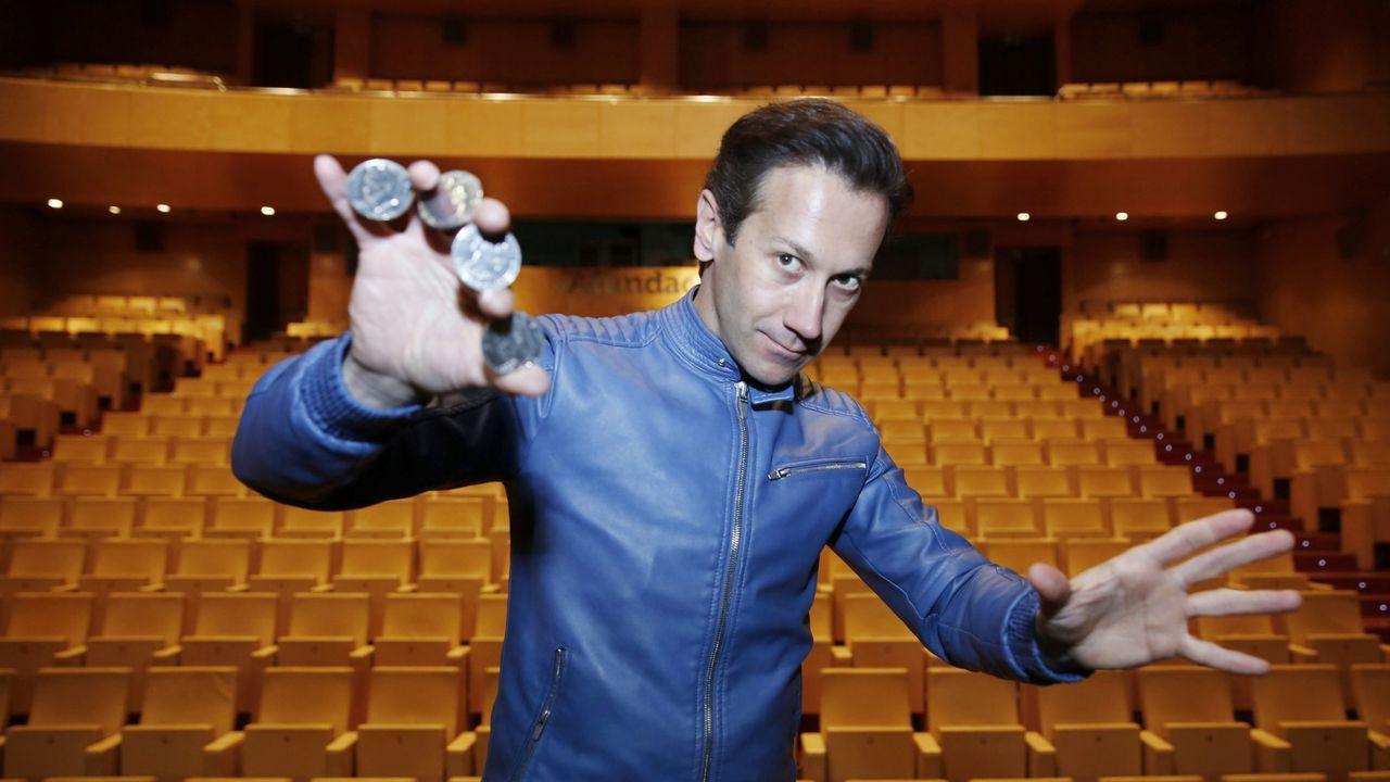 Pablo Piñeiro, actor y autor de «Lo positivo de fracasar en el amor»