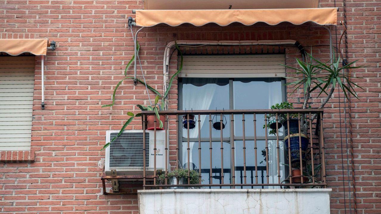 Vista de una de las casas en las que las tres hermanas norteamericanas denunciaron la supuesta violación