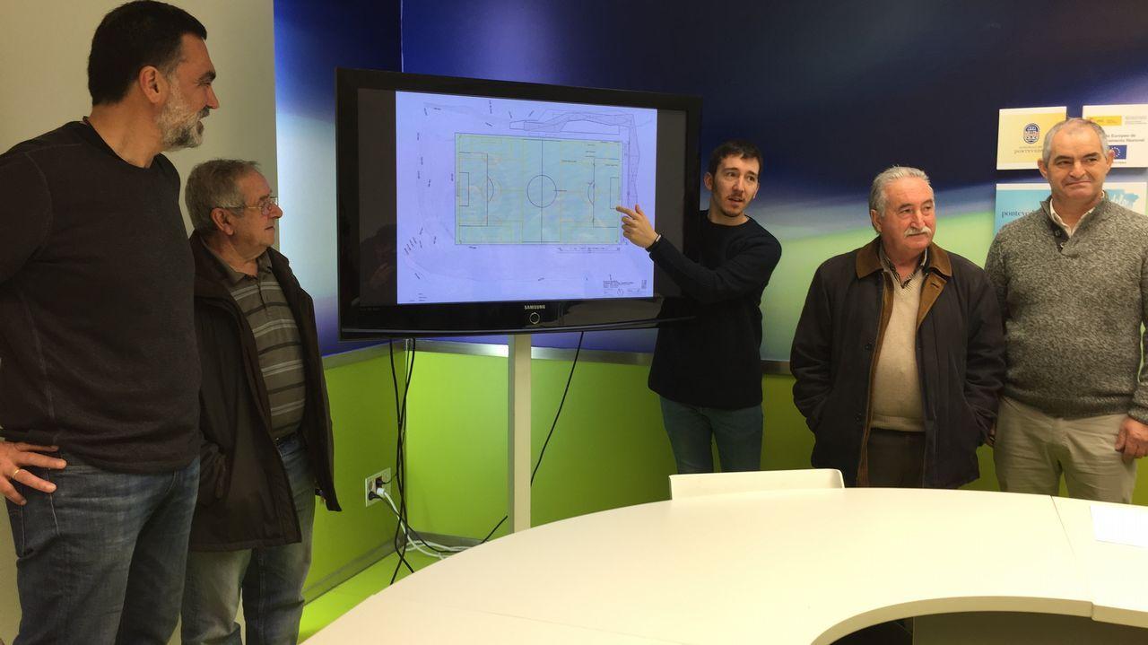 «Es una inversión histórica para Galicia».Reunión entre responsables de la Cámara de Comercio de Oviedo y la concejalía de Urbanismo