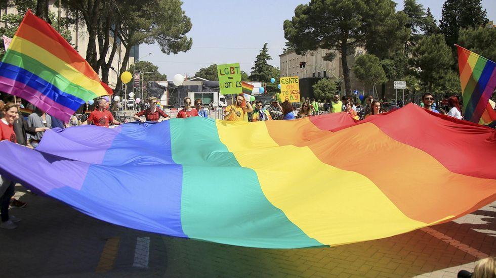 Las imágenes de la celebración del Orgullo Gay de Madrid