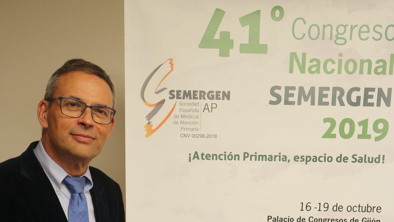 Miguel Ángel Prieto coordina el 41 Congreso Nacional de Semergen, que se celebra en Gijón