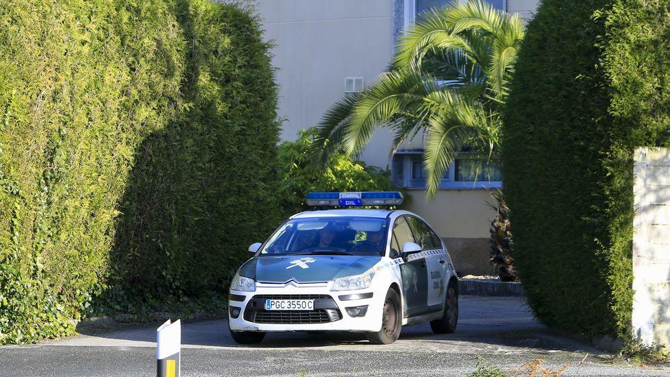 Así fue la detención de cinco personas en Marín cuando acudían a por 1.300 kilos de droga.Imagen de archivo