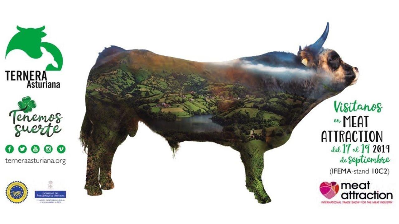 Ternera Asturiana estará presente en la Feria Meat Attraction junto a las mejores carnes del mundo