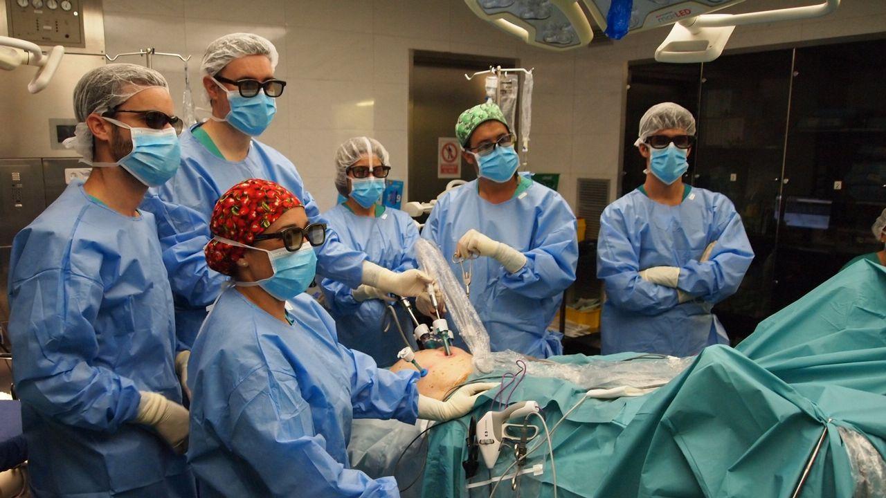La crudeza del fuego asturiano en imágenes.Cirugía de cáncer de próstata con una nueva tecnica.