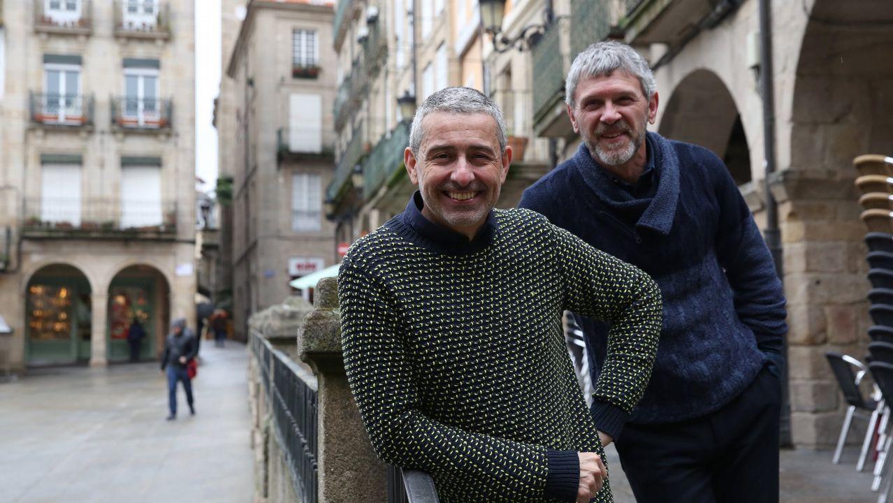«Método criminal»: adrenalina, crímenes, glamur y mucho humor negro.Marcos Orsi (á esquerda), xunto con Luis Iglesia