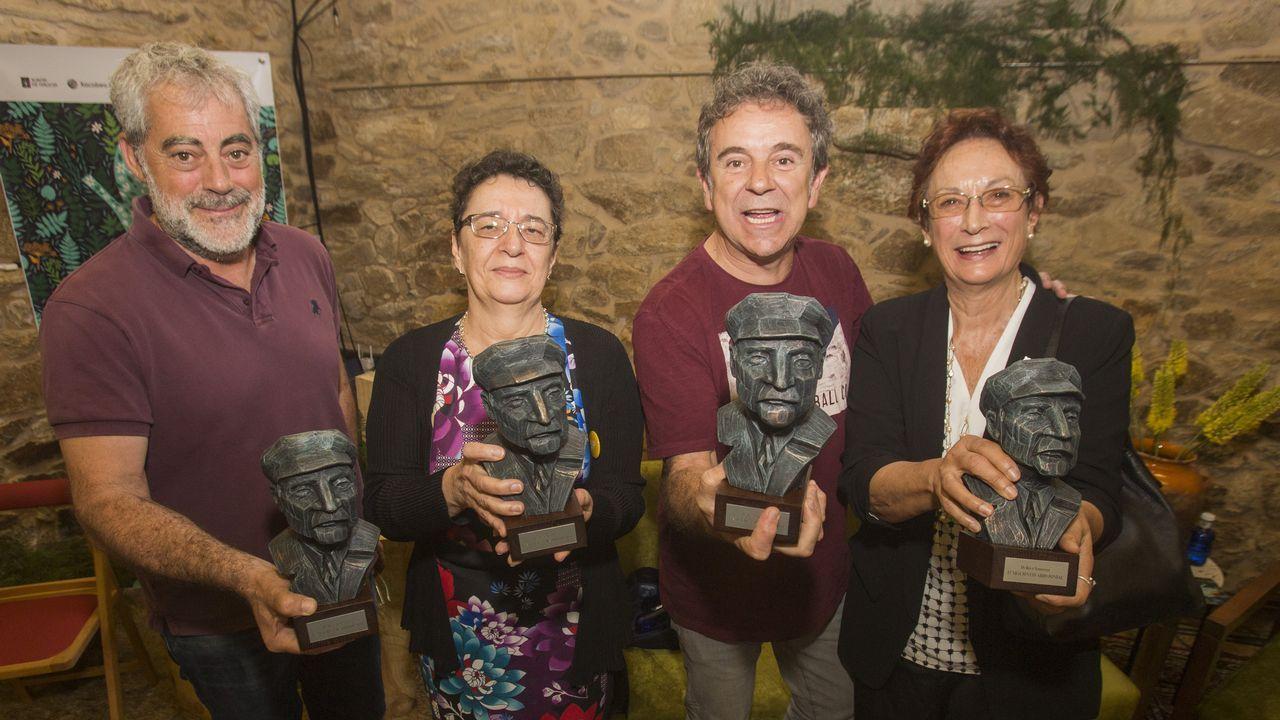 Coa entrega dos premios Bos e Xenerosos arrancaron as Festiletras deste ano no Couto. Mira as imaxes!