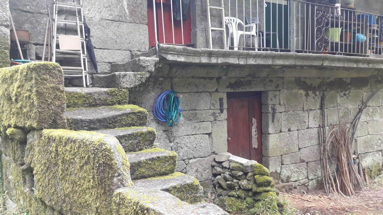 Casa donde los dos líderes de Resistencia Galega se escondieron durante los últimos cinco años