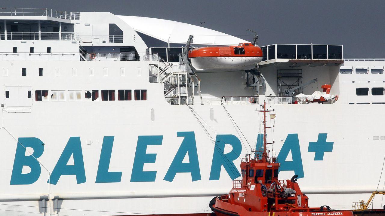 Un ferry de la compañía Baleària, en una imagen de archivo