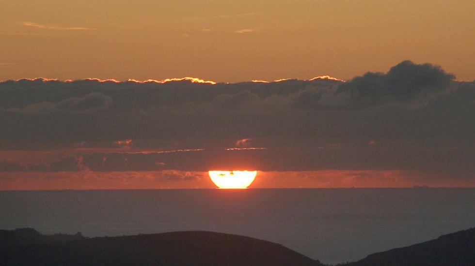 Puesta de sol desde el Pico de Meda