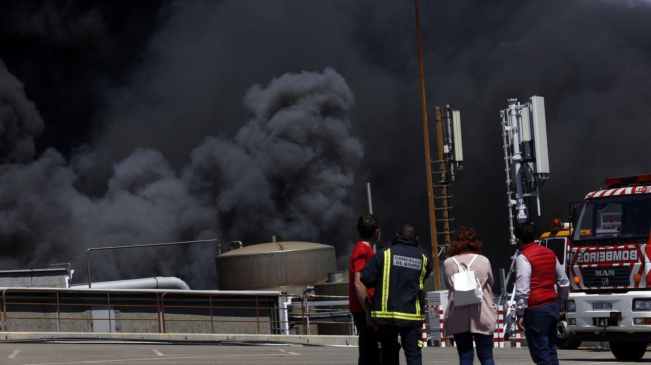 Incendio en las instalaciones de Jealsa