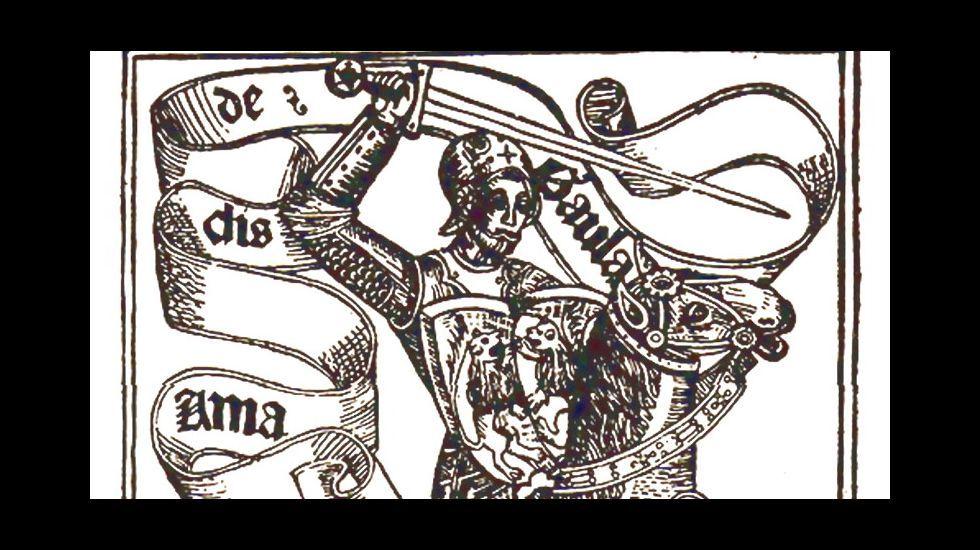 Portada de una de las ediciones de «Amadís de Gaula»