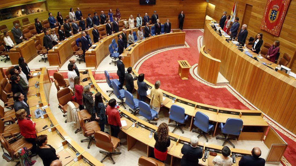 Los socialistas de la provincia de Lugo celebran la Navidad.Pleno de la constitución del Parlamento de Galicia en la presente legistatura