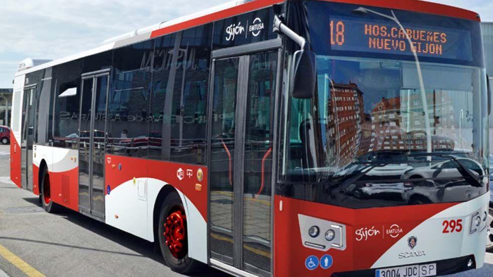 Un autobús de Emtusa