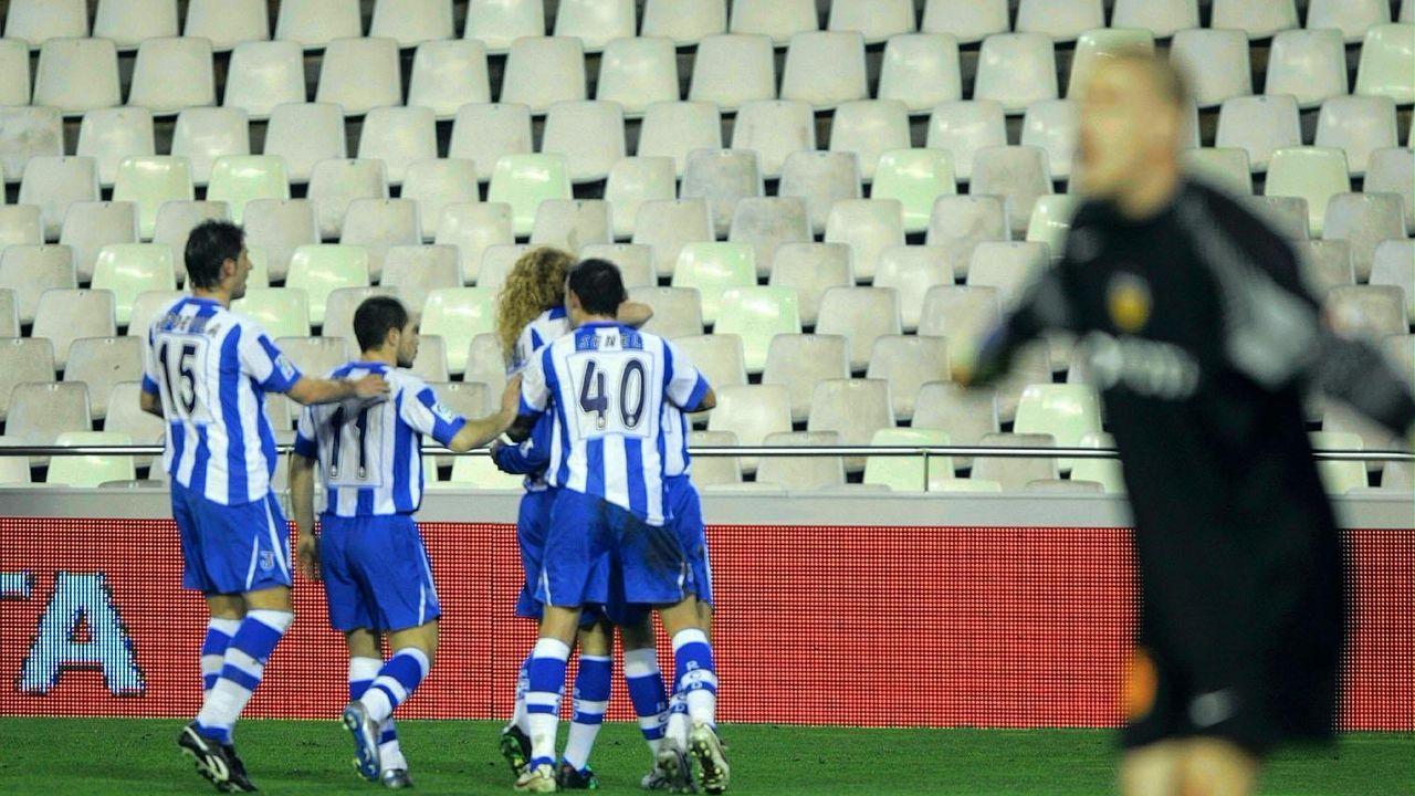 Las esperanzas del Valencia de alcanzar la final de Copa del Rey fueron disipadas gracias a un gol de Víctor Sánchez del Amo a los 20 minutos de reanudarse el duelo de cuartos de final a puerta cerrada en Mestalla. El equipo local, entonces entrenado por Quique Sánchez Flores, estaba con un jugador menos por la expulsión de Marchena antes de la suspensión del duelo.