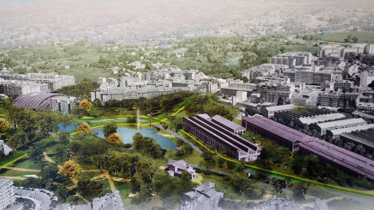 Proyecto «Bosque y Valle», ganador del concurso de ideas para el Bulevar de Santuyano