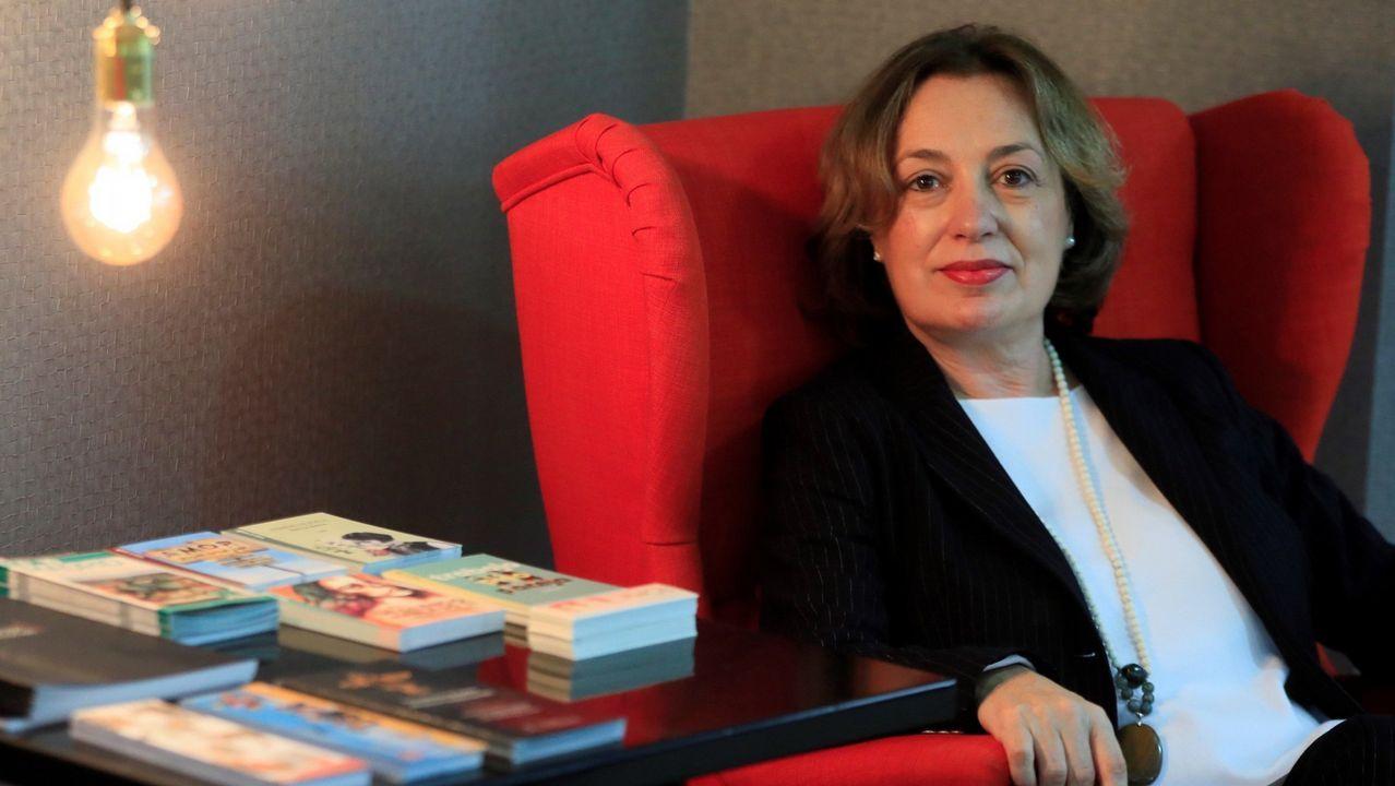 La historiadora extremeña Isabel Burdiel, responsable de la monumental biografía sobre Emilia Pardo Bazán