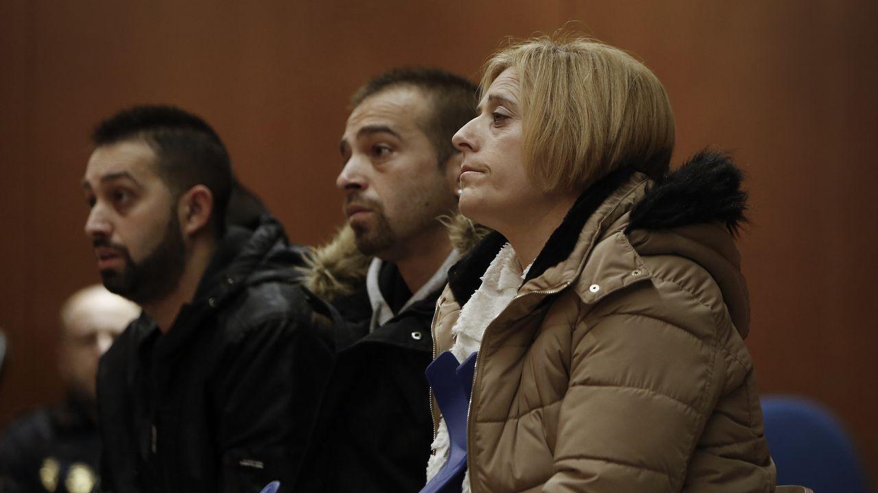 Sonia Muñoz: «Enganaba aos meus fillos, polo alcol roubeilles cartos e mentinlles moito».Juzgados de Gijón