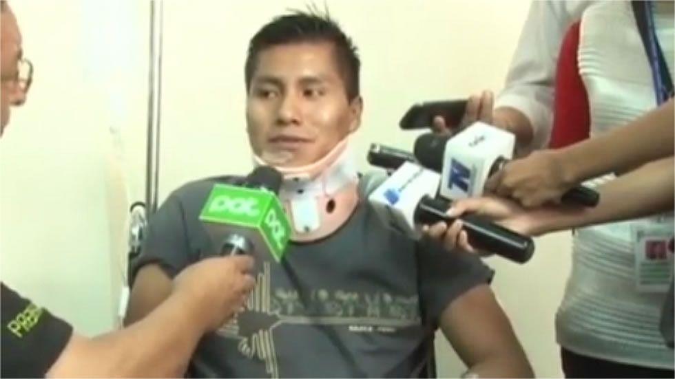 «Creí que era una pesadilla» dice el técnico de vuelo superviviente del accidente de LAMIA.Accidente del Yak-42