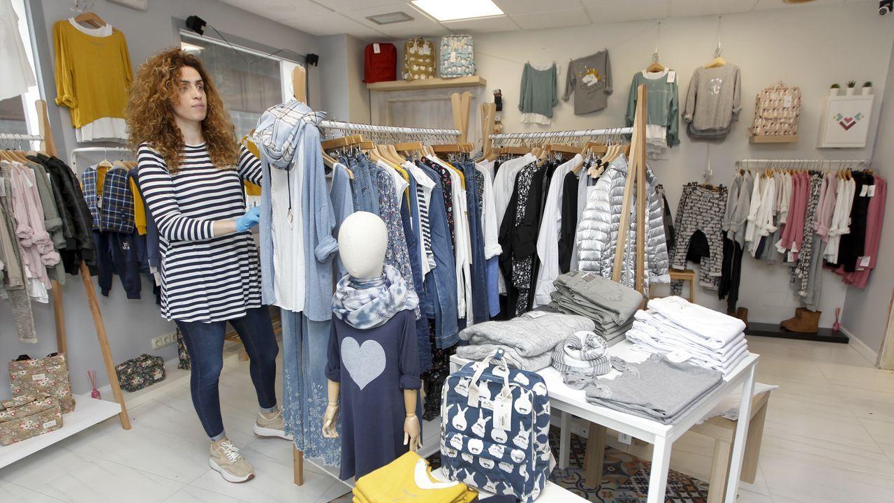 Bea Melendez en su tienda de ropa Viva la Vida nos cuenta como va a trabajar