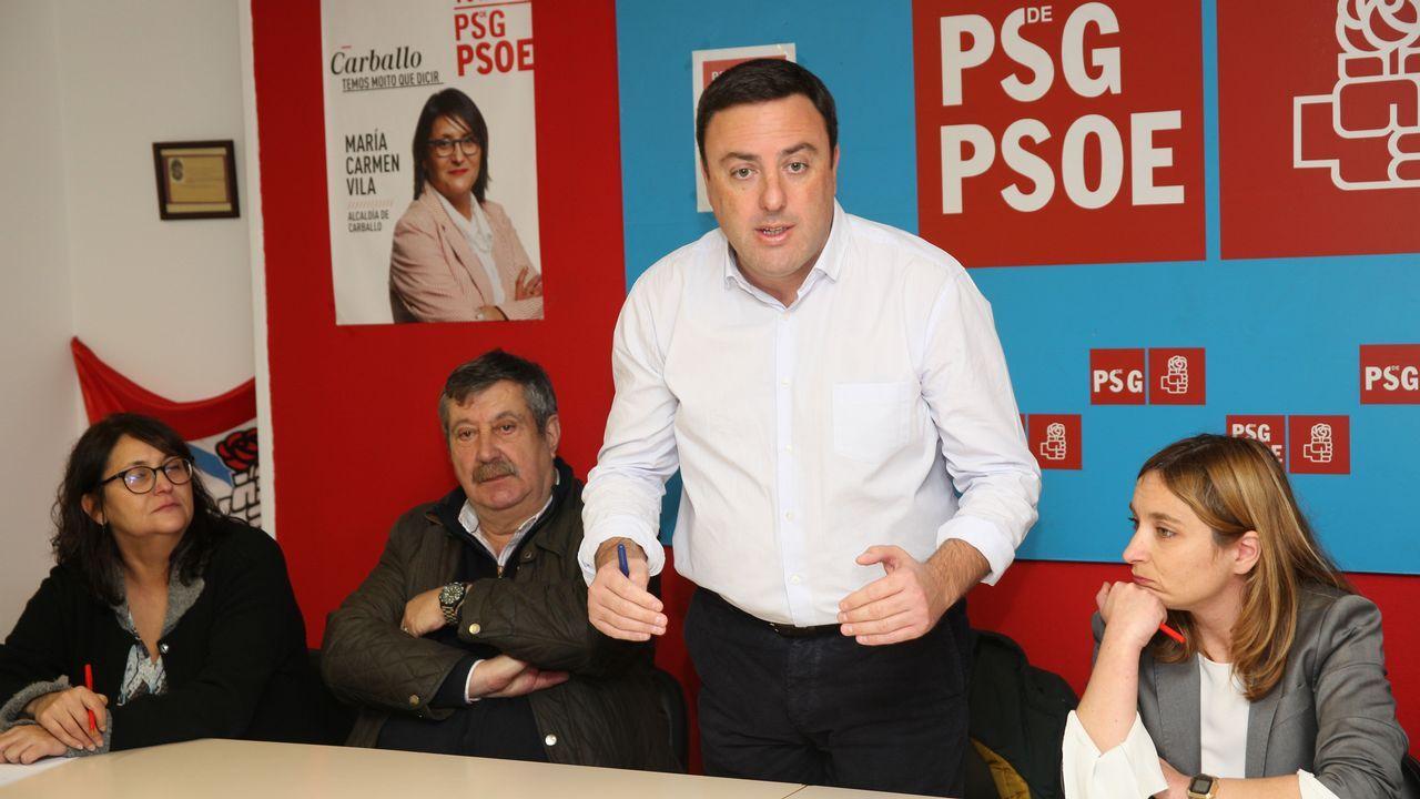 Declaraciones de los candidatos del PSOE