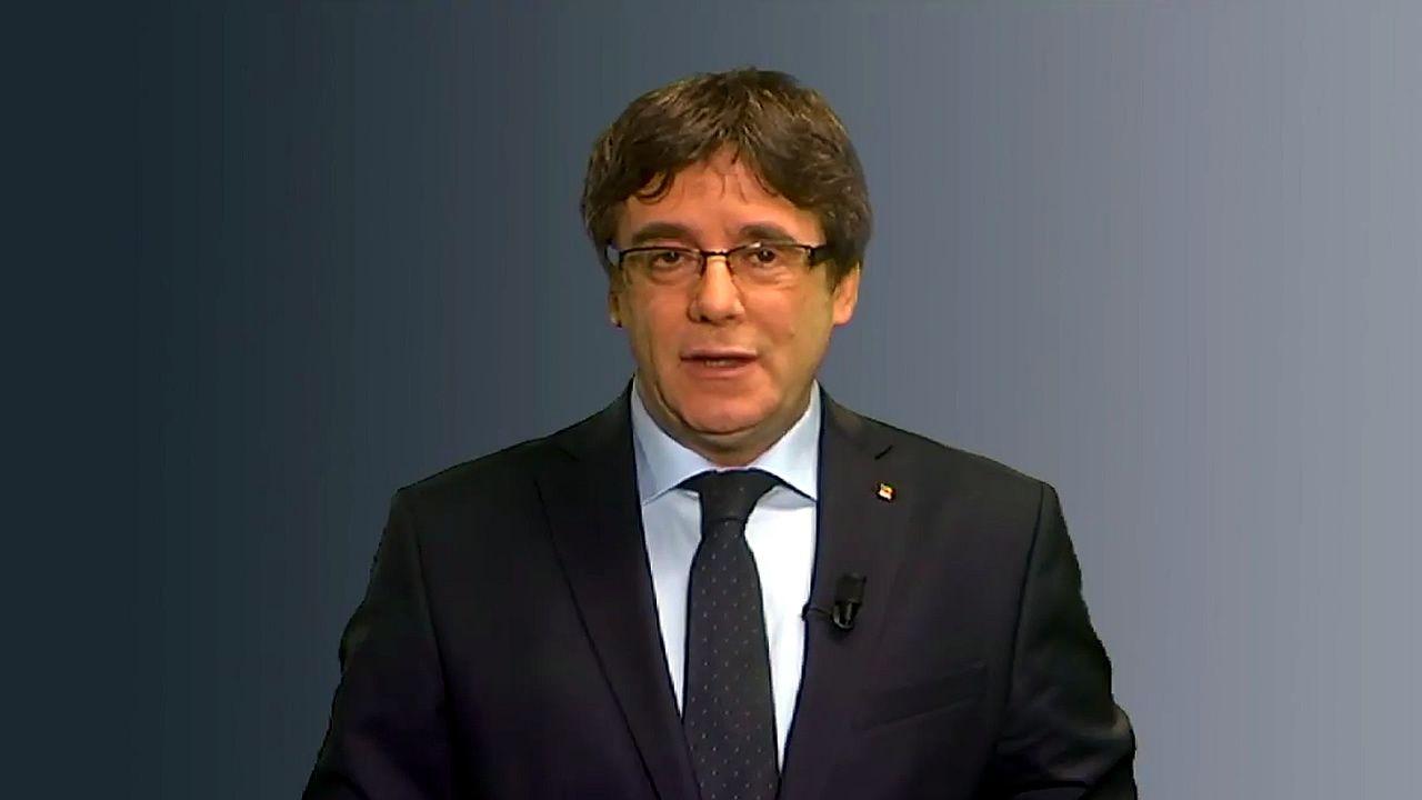 Puigdemont: «No hay ningún otro candidato alternativo»