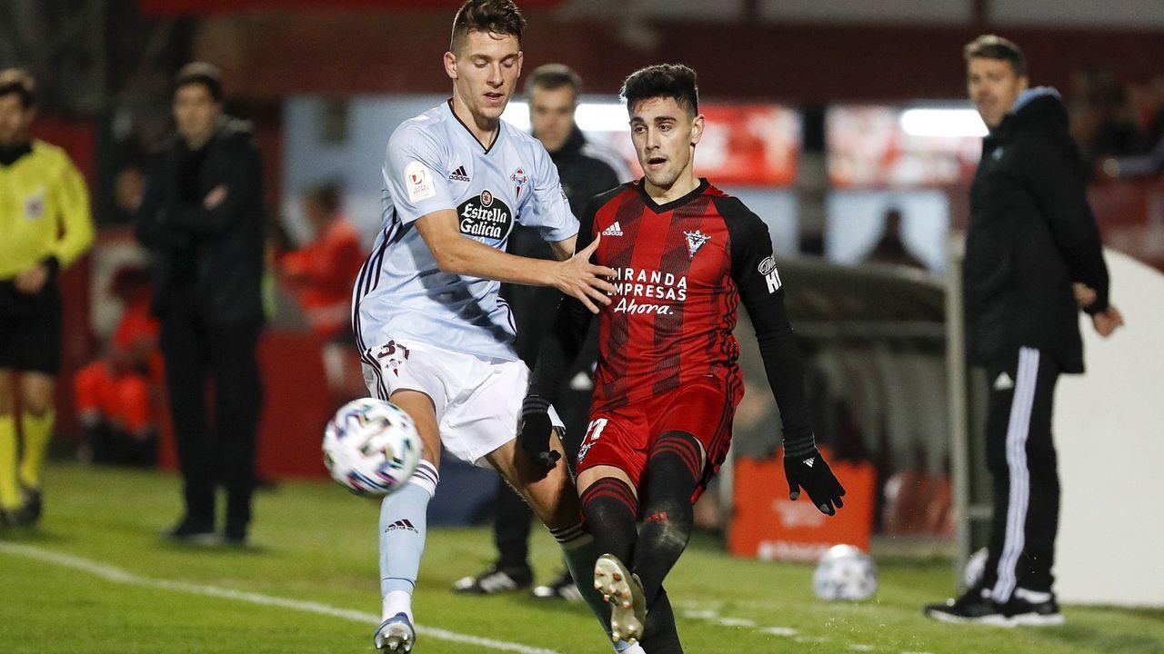 Imagen del duelo frente al Estrella Roja en Balaídos, partido que más le marcó de su etapa celeste