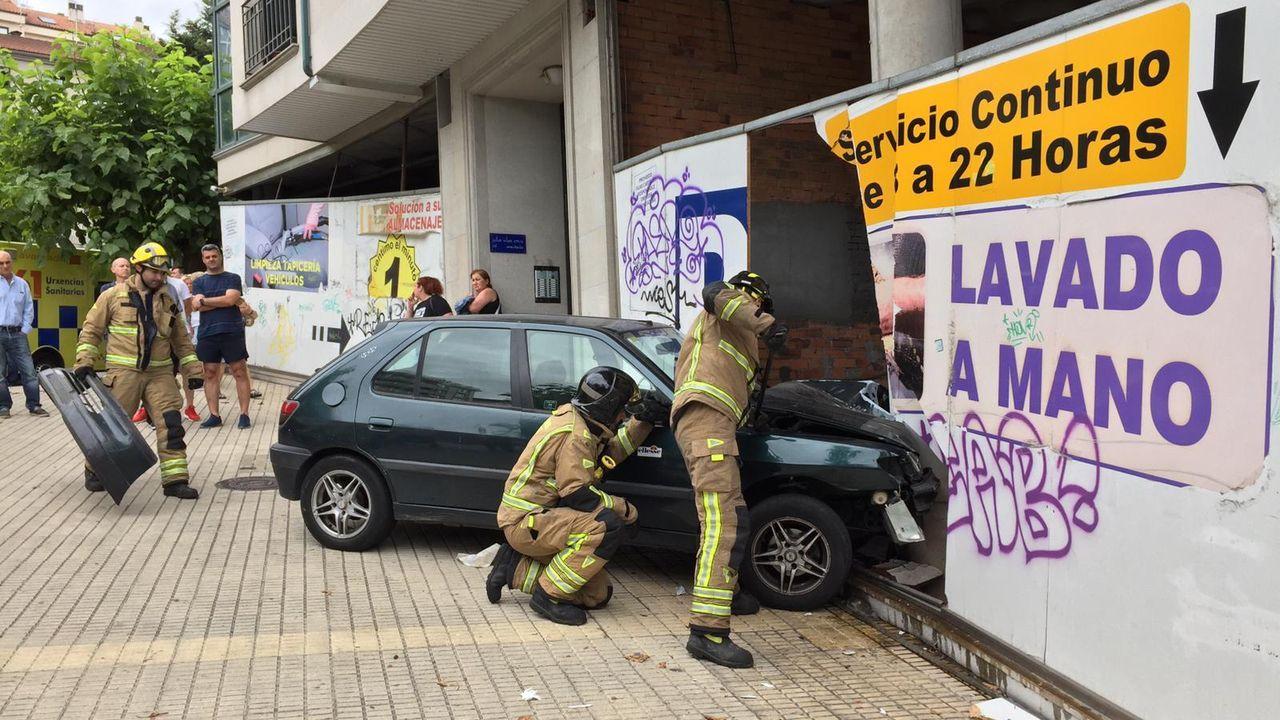 Búscate en el circuito Correndo por Ourense.Las trombas de agua en Ourense fueron espectaculares