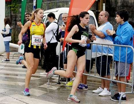 El cansancio hizo mella al ganar; Salama Loutfi, ganador de la primer carrera; y Paula Sahelices, que repite en absoluta femenina.