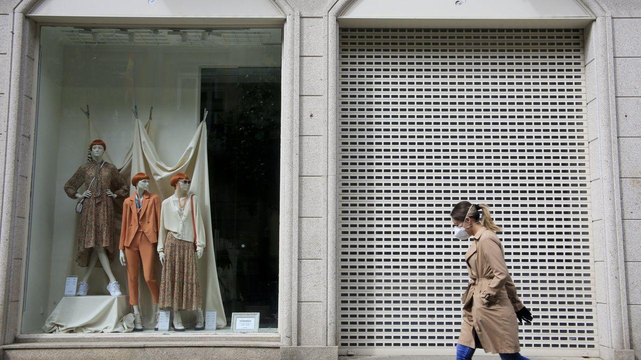 Vacunación de menores de 60 años en Gijón