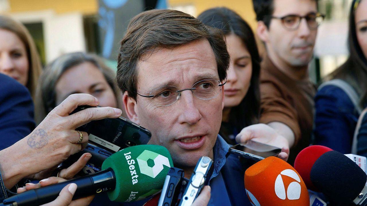 Martínez-Almeida da por hecho el pacto de PP, Ciudadanos y Vox en Madrid.Belarmino Feito