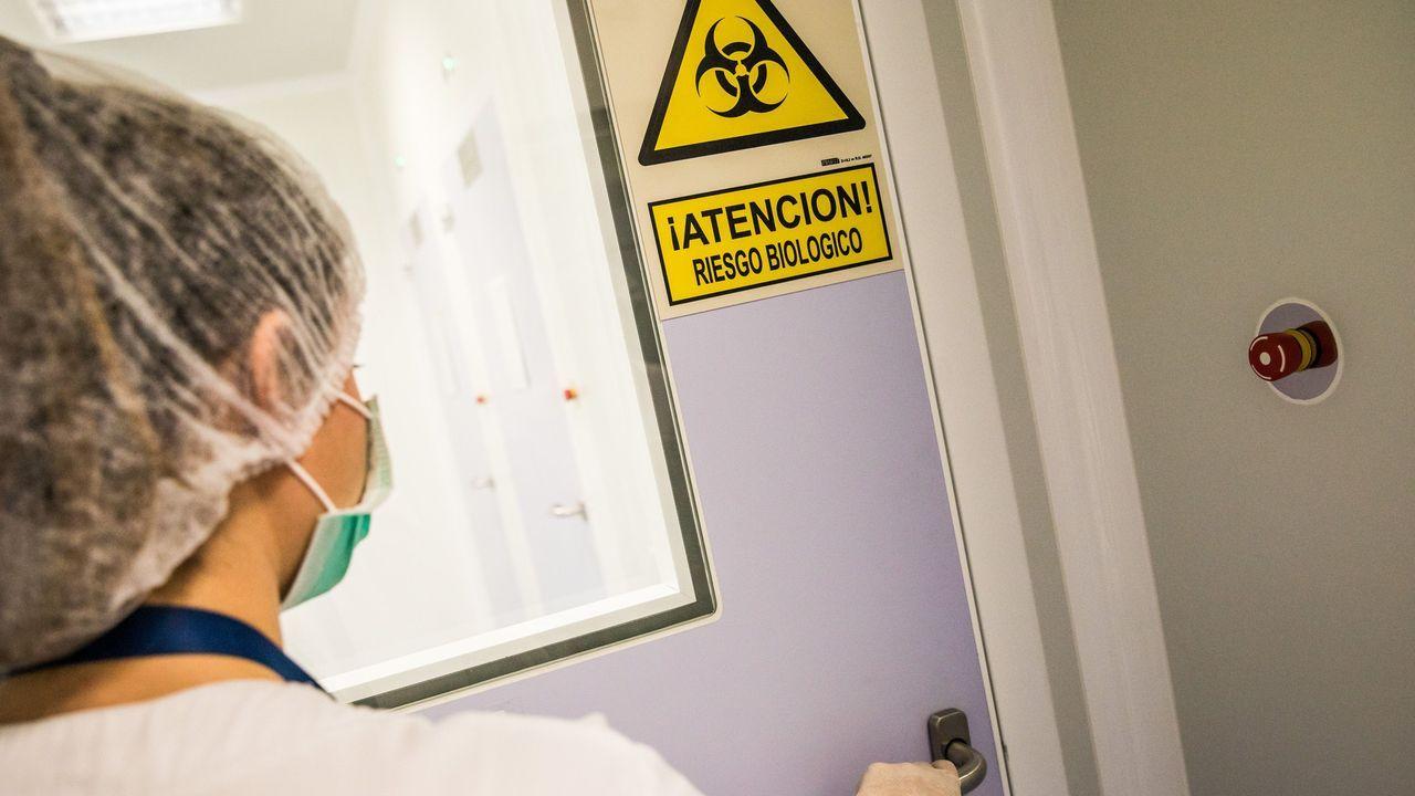 Laboratorios del grupo Zendal donde se preparan las vacunas