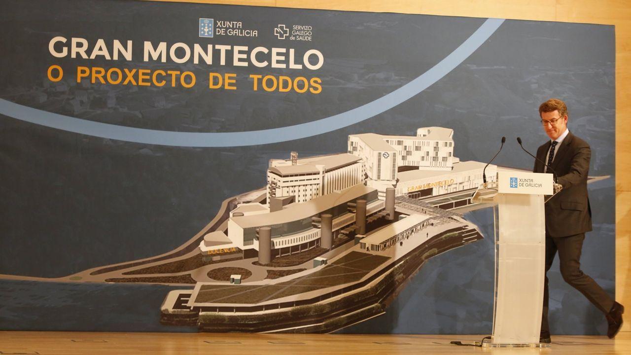 Los mayores edificios del barrio histórico de Vigo sin rehabilitar.Centro de salud del área de Vigo.